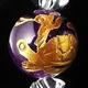 四神獣アメジスト&水晶ブレスレット(玄武) - 縮小画像2