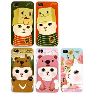 JETOY(ジェトイ) Choo choo iPhone4 ケース Ver.3 ピンクベア