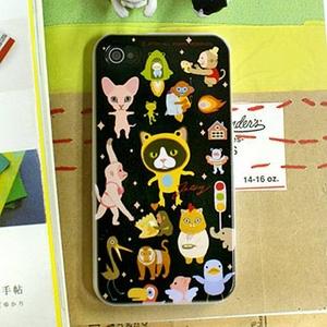 JETOY(ジェトイ) Choo choo SHOW iPhone4ケース スペースキャット - 拡大画像