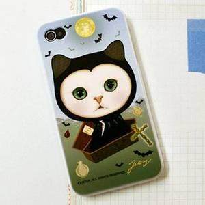 JETOY(ジェトイ) Choo choo iPhone4 ケース Ver.2 ドラキュラ - 拡大画像