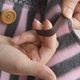 Mariecat マリーキャット ポケット付きマルチブランケット アイボリー - 縮小画像4