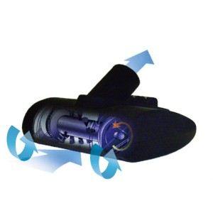 フカイ工業 充電式 ハイパワー ハンディサイクロンクリーナー 9.6V Mrs.サイクロンブラック FCC-1002