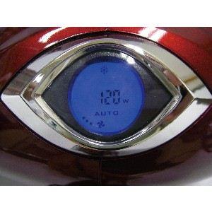ハイパワーデジドラ ドライヤー 【メタリックレッド】 大風量 速乾 1200W デジタル表示 FPWD-7000