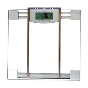 ボディバランスチェッカー/体重計【グレー】タップスイッチ&オートOFF機能付き体重・体脂肪率・体水分率GD-BF770