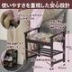 ゴブラン調玄関椅子 - 縮小画像2