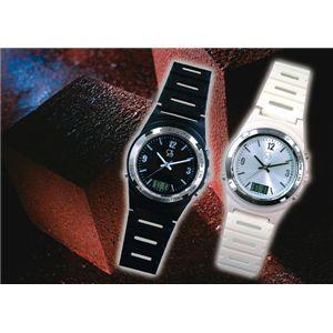 振動目覚まし腕時計 WAKE V(ウェイク ブイ) ブラック