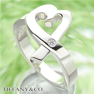 TIFFANY&CO. ラヴィングハートリング 1ダイヤモンド #7.0 / 14号 - 拡大画像