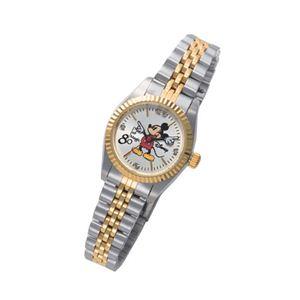 ミッキー生誕80周年記念ダイヤモンド腕時計 レディース - 拡大画像