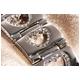 ハート型腕時計 デリシャスハートミッキー ピンク 写真5