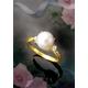大珠アコヤパール(あこや真珠) セレブリング 9号 - 縮小画像2