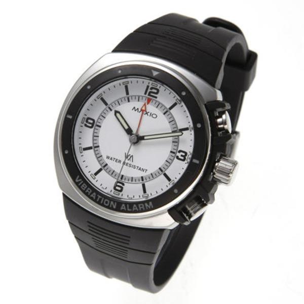 マキシオ激振(白)【腕時計】f00