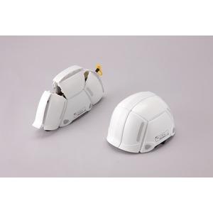 防災用折りたたみヘルメット BLOOM(ホワイ...の紹介画像2