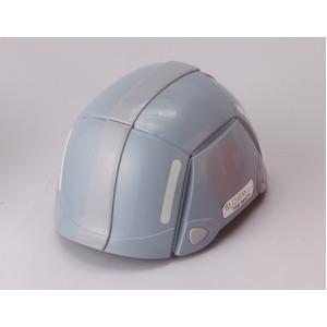防災用折りたたみヘルメット BLOOM(グレー)【防災ヘルメット】 - 拡大画像
