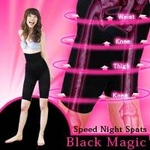Black Magic -スピードナイトスパッツ- M:ウエスト 64〜78cm、ヒップ87〜100cm ¥3,129