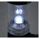 乾電池不要!くるくる回すだけで充電!LED4球使用で明るい!手巻き充電ランタンライト【2個セット】 - 縮小画像5