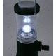 乾電池不要!くるくる回すだけで充電!LED4球使用で明るい!手巻き充電ランタンライト【2個セット】 - 縮小画像6