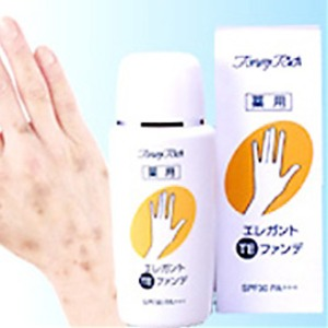 エレガントTEファンデ/手用ファンデーション 【薬用】 日本製