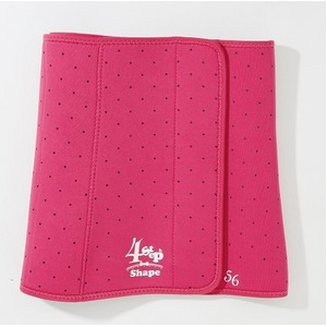 4STEPビューティシェイパー 【ウエスト用 ピンク】 適応サイズ:ウエスト 56~98cm 発汗