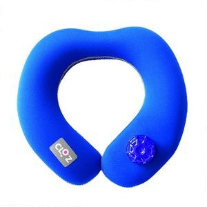 HY-002 クロッツ やわらか湯たんぽ 肩用タイプ 小 ブルー - 拡大画像