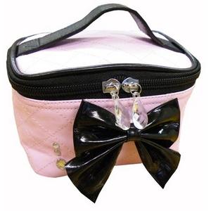 リボンシリーズ バニティケース ピンクの商品画像