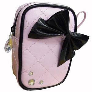 小物ポーチ ピンク リボンシリーズ 【2個セット】 h01