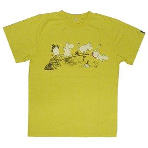 ムーミンTシャツ イエローS - 拡大画像