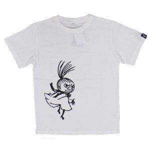 ムーミンTシャツ 踊るミイ ホワイトM