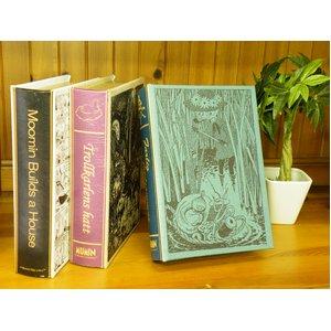 ムーミンブックボックス ムーミンコミック柄 ホワイト - 拡大画像