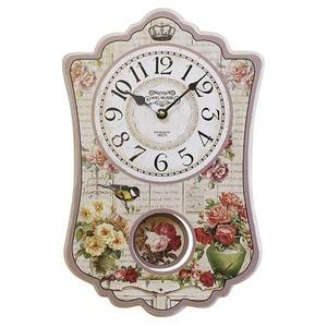 振り子時計【2個セット】  ピンク - 拡大画像