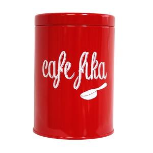 ファボリ コーヒーコンテナー カフェフィーカ/レッド【3個セット】 - 拡大画像