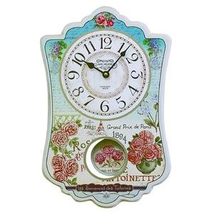 振り子時計【2個セット】 ブルー - 拡大画像