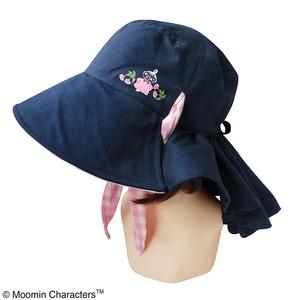 【保育士さん】ムーミン つば広帽子 フラワーピンク