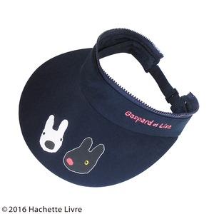 【保育士さん】リサとガスパール 3WAYつば広帽子 ピンクチェック h02