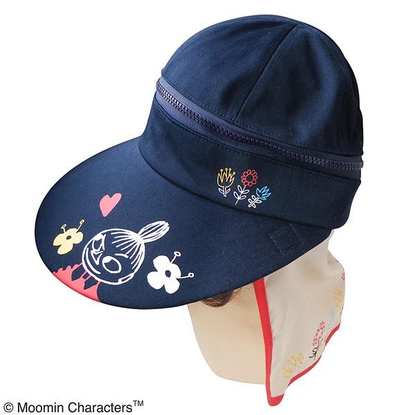 【保育士さん】ムーミン 3WAYつば広帽子 カラフルフラワーf00