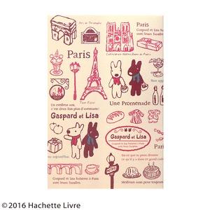 リサとガスパール 御朱印帳【2冊セット】【Une Promenade】の写真1