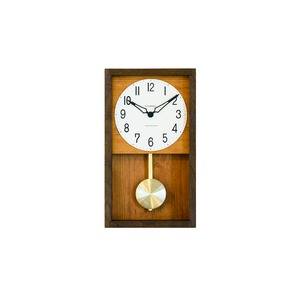 CHAMBRE HINOKI PENDULM CLOCK【BROWN】