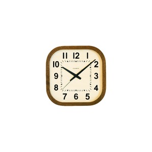 CHAMBRE KADOMARU CLOCK【BROWN】