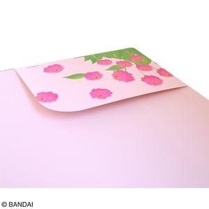 くまのがっこう クリップボード【同柄2個セット】【リトルスマイルジャッキー ピンク】