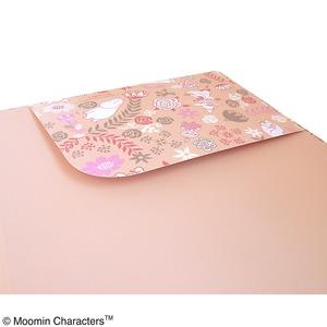 ムーミン クリップボード【2点セット】【FLOWER ピンク】
