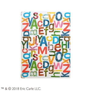 はらぺこあおむし【エリックカール】 クリップボード【同柄2個セット】【アルファベット】