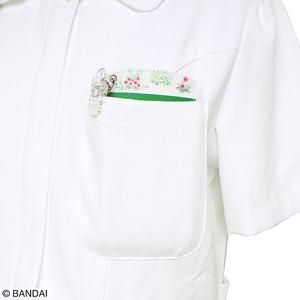 くまのがっこう胸ポケット用ペンケース 【2個セット】しんゆう グリーン