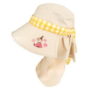 【保育士さん】ムーミンつば広帽子ベージュ