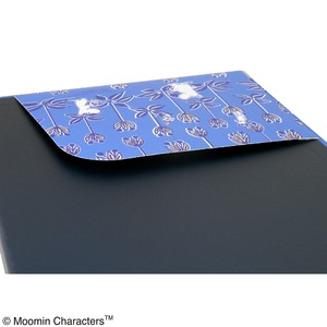 ムーミン クリップボード【同柄2個セット】【maze ブルー】