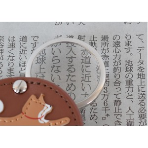 ルーペ付きウォッチ シバ【2個セット】【カーキ】