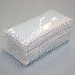 3層式サージカルマスク ブロックプラス ブルー 1000枚セット(簡易パッケージ包装)