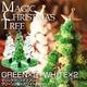 マジッククリスマスツリー 4個セット(グリーン×2個、ホワイト×2個) - 縮小画像1