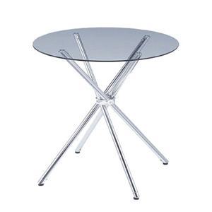 ガラスラウンドテーブル