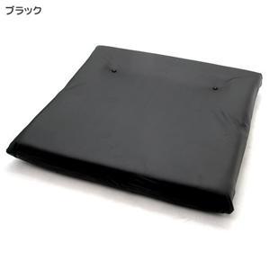 レザーダブルソファー RE01 ブラック画像2