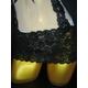 CSLベビードール&ショーツ M79066 WH Mサイズ - 縮小画像4