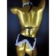 CSL セクシーランジェリー チョーカー&ブレス付き/ブラ&ガーター&ショーツ - 縮小画像3